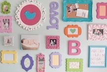 Baby Girl Nursery Ideas / Baby Girl, Girl Nursery, Southern Baby, Monogram Baby,