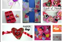 Crafts Christmas, Hanukkah and Valentine's Day
