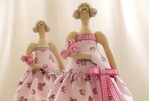 1.6 - Tilda Dolls and similar / Handmade dolls from Tilda patterns or in similar style
