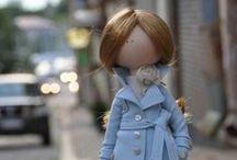 1.4 - Clothespin and Cloth Dolls / Clothespin Dolls - Cloth Dolls - Fabric Dolls