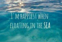 By The Sea / {I am a worshiper of the sea, beach and sun} / by Alison Oswell