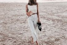 # S U M M E R / Style inspiration board for summer outfits