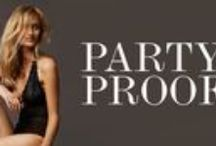 Party Proof / Naast een prachtige outfit draag je natuurlijk ook feestelijke lingerie! Ben jij party proof?