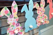 Easter Ideas / Easter, egg hunts, Easter Entertaining, Easter dinner recipes, Easter brunch, Easter crafts, Easter Egg Hunt, Easter Baskets for Kids