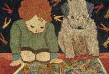 Rug hooking / by Annie Spear