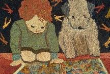Rug hooking / by Annie Spear