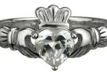 Claddagh Rings Sterling Silver / Handmade and hallmarked in Ireland.