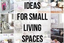 Decor - Apartments/Small Homes / Decor inspiration for small homes, apartments, rooms, etc / by Angi Myers-Broom