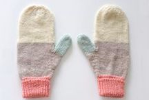 Mittens and slippers
