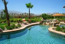Resort Style Living near Palm Springs, California / Resort Style Living is possible in cities like Palm Springs and La Quinta in California. Many communities offer country club type amenities for homeowners to enjoy.