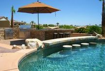 Backyard Pools / Living in the Palm Springs desert definitely requires a pool! You'll find plenty of homes in Indio, La Quinta, and Palm Desert with pools for sale.
