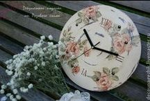 Decoupage - Clocks