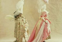 Fashion: 1700's Robe a la Francais, Robe a l'Anglais, Polonaise Gowns, Overdress and Round Gowns / by mara basso