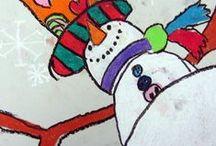 Projets de classe : hiver