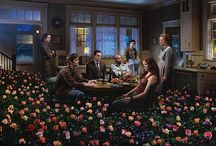 Photos: Gregory Crewdson / American photographer known for his staged scenes of American homes and neighborhoods. / by Mariana Lopez