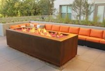 Cor-Ten Steel Fire Pits / Our Collection of Weathering Steel Fire Pits