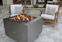 Stainless Steel Fire Pits / Constructed out of 11 and 12 gauge Stainless Steel with a brushed satin finish, these fire pits will endure the harshest environments.