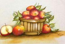 Riscos frutas e legumes