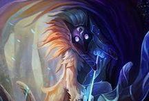 League of Legends / Recopilatorio de mis ilustraciones favoritas de League of Legends!