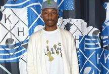 Pharrell Williams Fashion Style / #PharrellWilliams #Celebrities #Fashion #Style #Outfits #Looklive