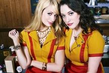 Broke Girls Fashion Style / #BrokeGirls #Fashion #Outfits #Style #Celebrity #TV #Looklive