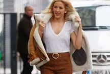 Ellie Goulding Fashion Style / #EllieGoulding #Fashion #Outfits #Style #Celebrity #Looklive