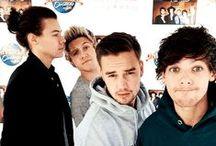 1D/One Direction. / One Direction — англо-ирландский бой-бэнд, основанный в Лондоне в 2010 году, в состав которого входят: Гарри Стайлс, Луи Томлинсон, Найл Хоран и Лиам Пейн.
