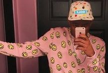 Tyler The Creator Fashion Style / #TylerTheCreator #Fashion #Outfits #Style #Celebrity #Looklive