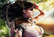 Characters art / character art, design, poses, outfits, warriors, fairies, fantasy,...