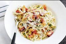 RECIPES - pasta / Food: pasta, Italian, noodle, recipes
