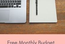 Budgeting Tips / Money Saving, Budgeting, Monthly Budget Planning ideas.