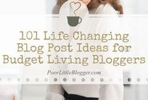 Blogging Tips / The best tips for bloggers all in one place. Blogging tips, blogging ideas to improve your business.