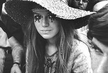 seventies chic and boho