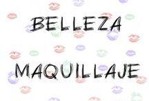 Belleza: maquillaje
