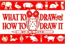 1913, What to Draw and How to Draw it, by E.G. Lutz / 1913,  What to Draw and How to Draw it, by E.G. Lutz. Source: http://tinyurl.com/ll46yxb