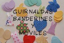 Guirnaldas, Banderines y Moviles