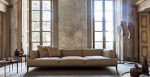 NIDO sofas and sectionals / Contemporary Italian Furniture show. Take advantage of our in-house design staff.