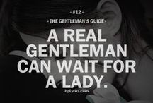 Of Gents & Ladies / by K. Simmons