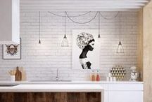 kitchen / Inspiration for our new kitchen
