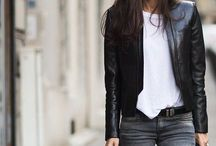 2015 Style / Fashion style minimal monochrome clothing inspiration black grey white
