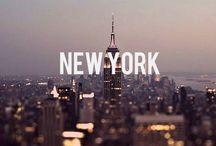 The city. / New York City.
