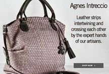 Agnes Bag / Leather strips intertwining and crossing each other by the experts hands of our artisans!
