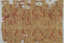 Textiles: Baroque / Baroque brocades, damasks, baroque era inspired textiles, fw17, ss17, interior textile trends, mood board.