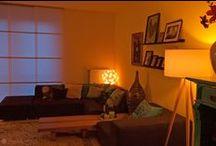 Swirlamp inspiratie / Voor bijna elk interieur is wel een geschikte Swirlamp te vinden. Verhoog de sfeer in je woonkamer, keuken, overloop of toilet met een Swirlamp. Met dit bord hopen we je te inspireren.