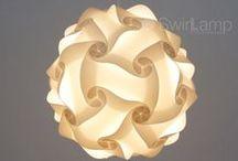 Swirlamp Basics / Onze uni Swirlampen in de maat 42cm zijn leverbaar in meerdere kleuren.