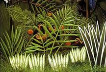 Textiles: Tropical / Tropical prints, Palm prints, Green, Mint, SS17, SS18, Trend Inspiration, Fashion, Fashion Week, Patterns, Green Colors.