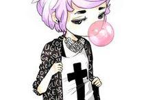 Anime Hair Pink
