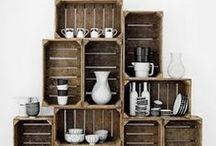 Ecodesign / Riciclare, riutilizzare e ridare vita a vecchi oggetti.  Il design di recupero è bello e utile!