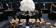 EaglemtnCasino Party decoration ideas / Decorations, centerpieces, decors, table setting, DIY, party