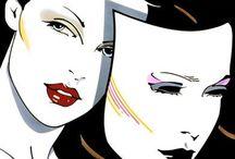 80's Airbrush and Yoko Honda